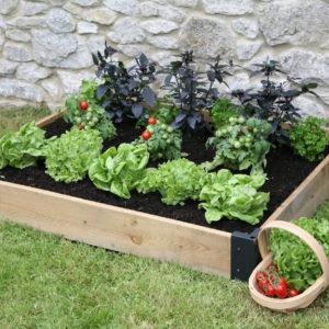 raised plant bed base